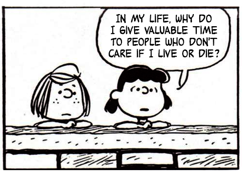 The Smiths lyrics and Peanuts Comic Strips